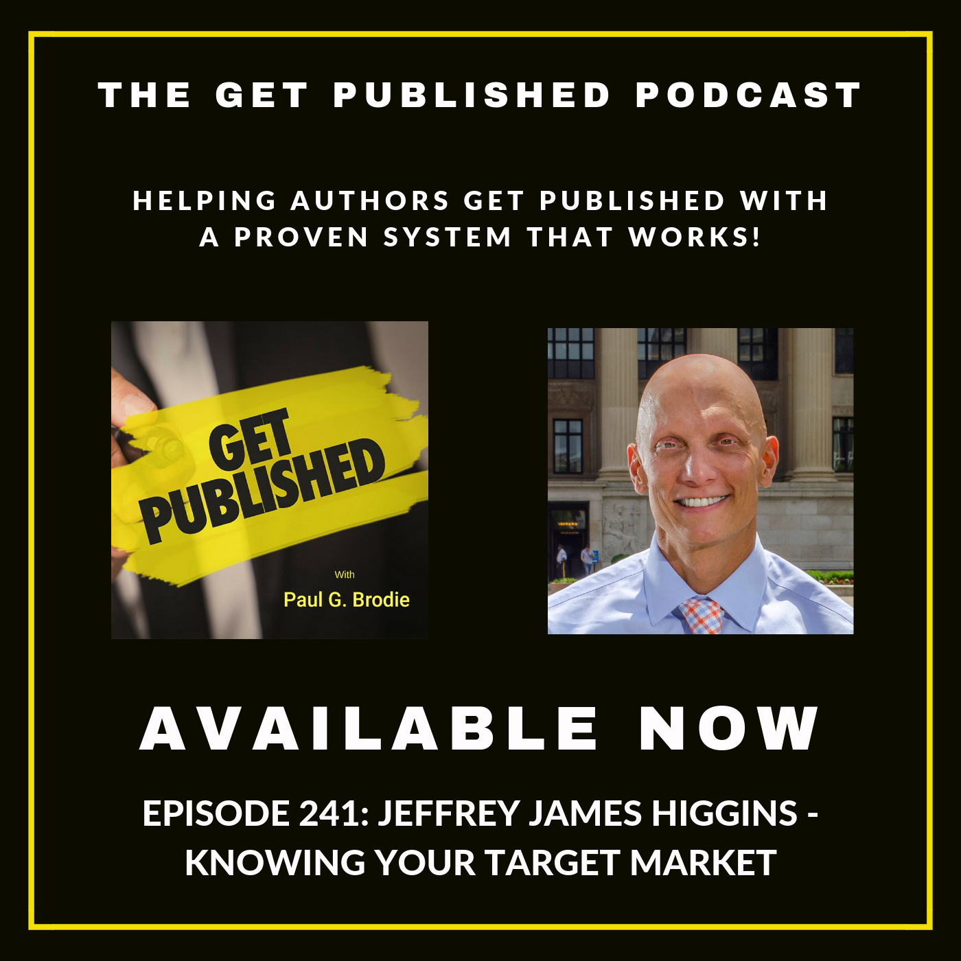Getting Published Podcast Graphic